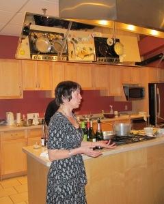 Karen LaVigne at Go Cooking