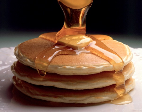 Maple Syrup on Pancakes