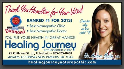 The Healing Journey - Diamond Award  2013  Reader's Choice