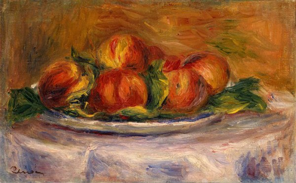 renoir-peaches-on-a-plate