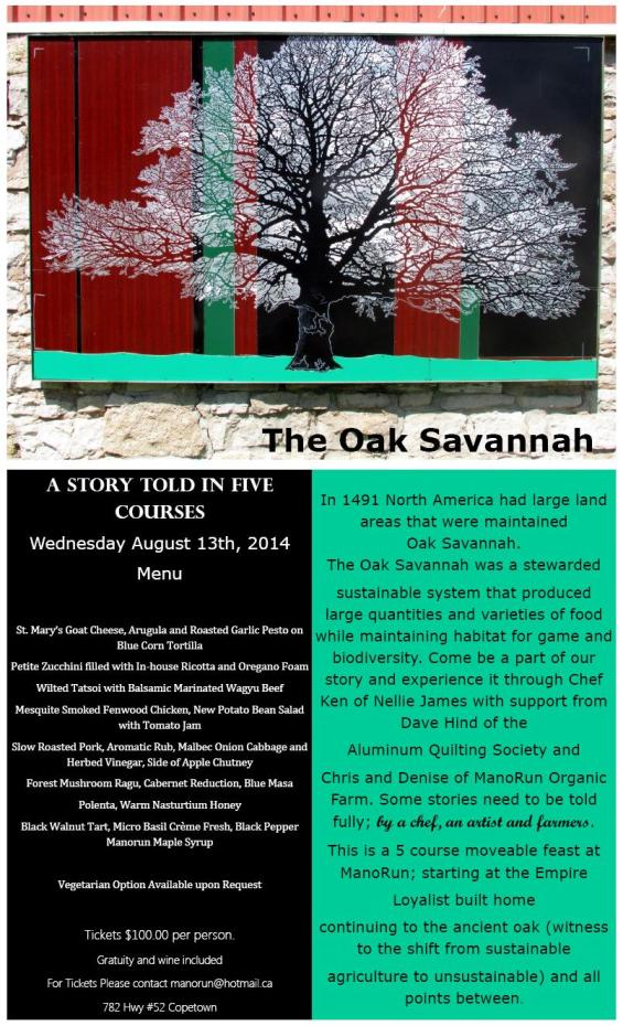 The Oak Savannah Story