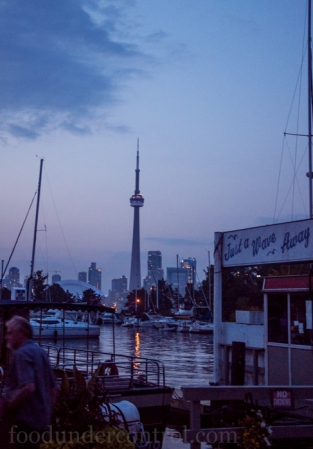 Toronto Island - CN Tower - Just a Wave Away
