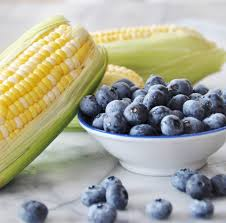 blueberriesand corn